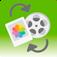 Easy Media Transfer: Einfaches Übertragen von Fotos und Videos zwischen Geräte, Computer und Cloud Services (AppStore Link)